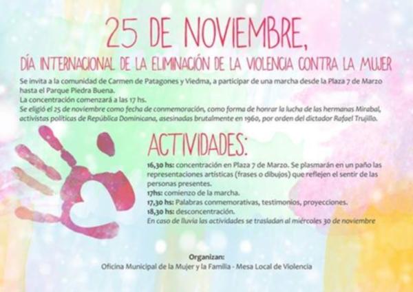 Patagones Se Suma Al Día Internacional De La Eliminación De